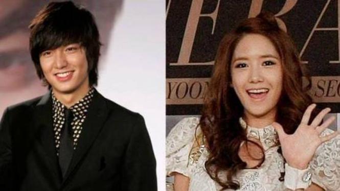 Lee Min Ho dan Yoona SNSD
