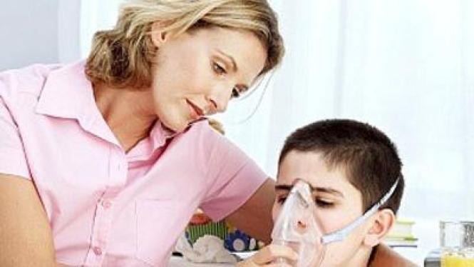 anak pengidap asma