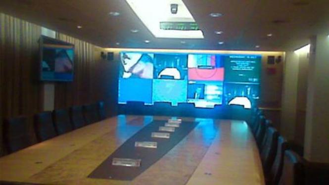 Tempat pertemuan Komite Cobra, Inggris.