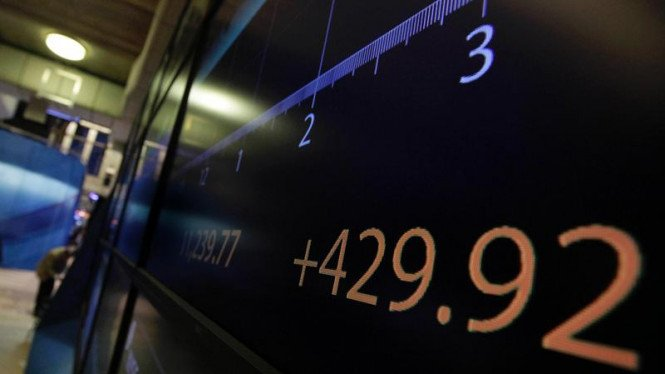 Rutinitas pialang saham di New york