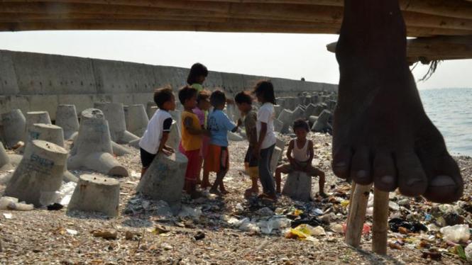 Anak- anak di Cilincing