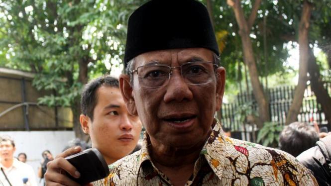 BNPT Mou dengan Ormas Islam, Hasyim Muzadi