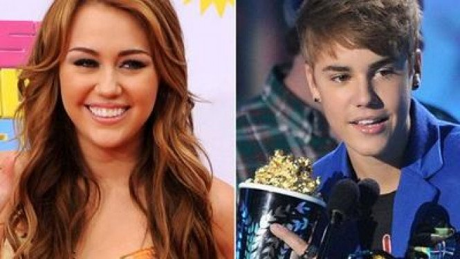 Miley Cyrus & Justin Bieber