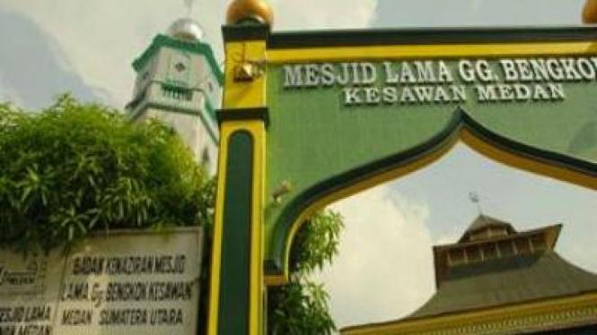 Mesjid Lama Gang Bengkok, Medan