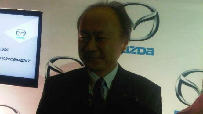 Presiden Direktur Mazda Indonesia Keizo Okue