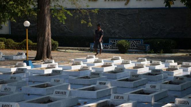 Taman Makam Pahlawan Sampurna Raga Korban Pembantaian Rawagede Di Karawang
