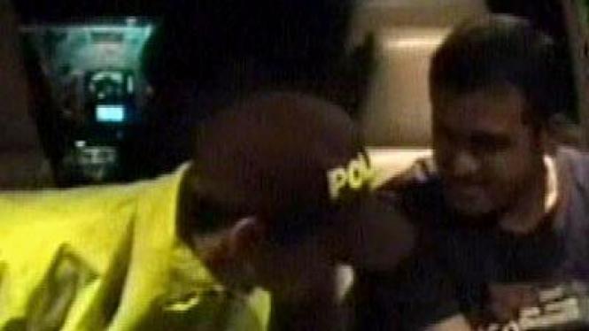 Nazaruddin ditangkap di Kolombia