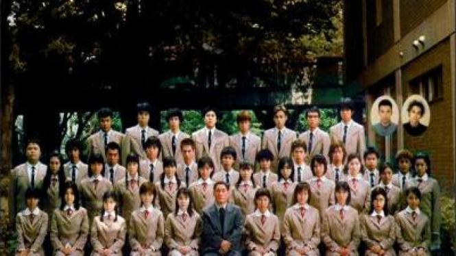 Ilustrasi Foto Kelas SMA