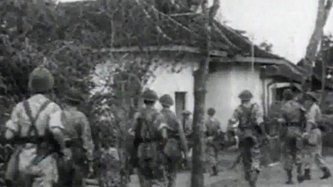 Ilustrasi pembantaian Rawagede
