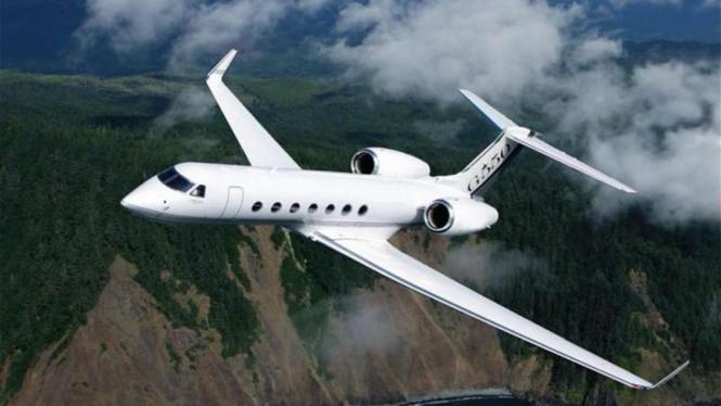 Pesawat Pengangkut Nazaruddin