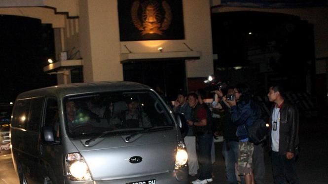 M. Nazaruddin Tinggalkan Mako Brimob