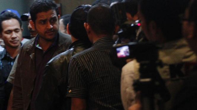 Nazaruddin Tiba di KPK