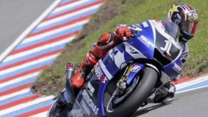 Jorge Lorenzo di MotoGP Ceko