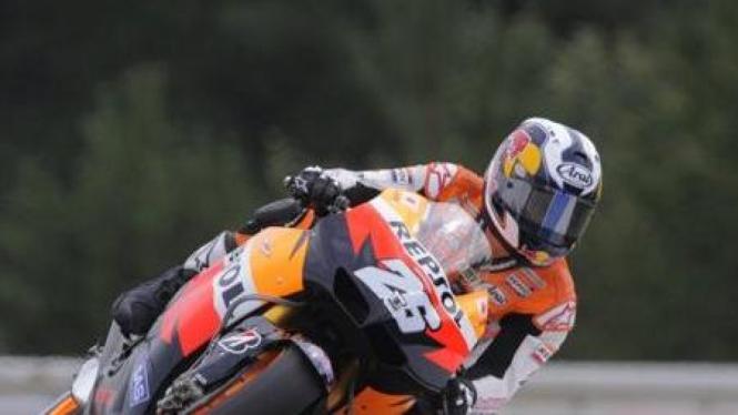 Dani Pedrosa di MotoGP Ceko