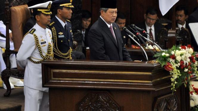 Pidato kenegaraan SBY