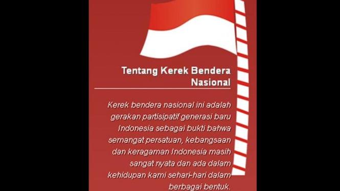 Kerek Bendera Nasional Twitter
