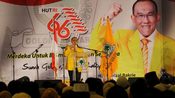 Pidato Aburizal Bakrie (Golkar) Menyambut HUT RI ke 66