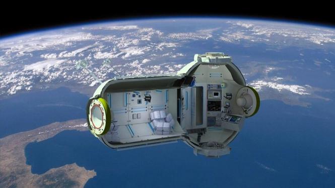 Hotel luar angkasa Rusia 1