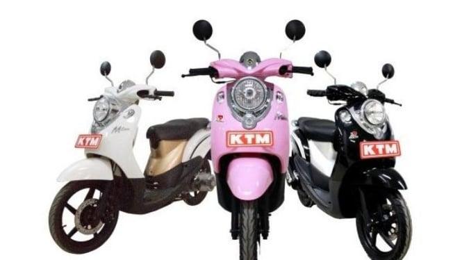APP-KTM Milan, Skuter asal Cina