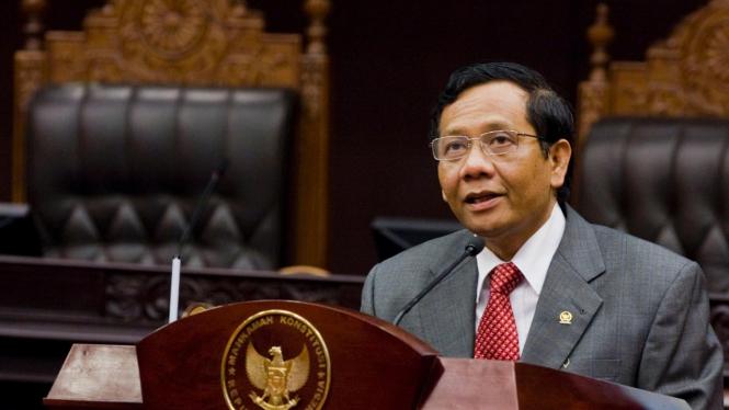 Mahfud MD Kembali Terpilih Menjadi Ketua MK