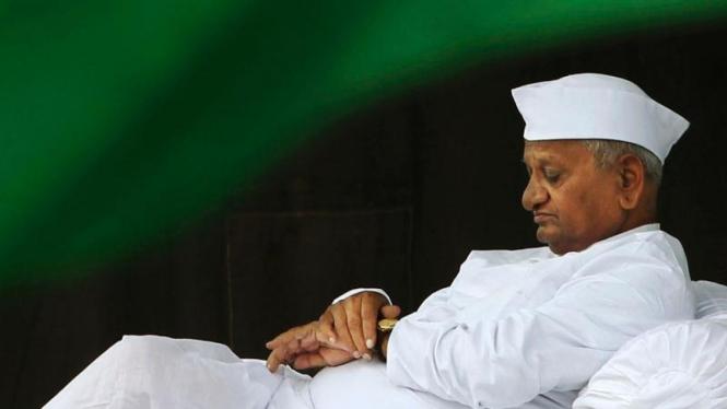 Anna Hazare Aktivis Anti Korupsi India