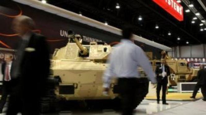 Pameran Tank Militer AS