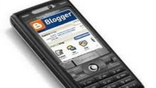 Akses blog dari ponsel