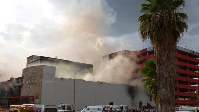 Kebakaran Casino Royale Di Meksiko