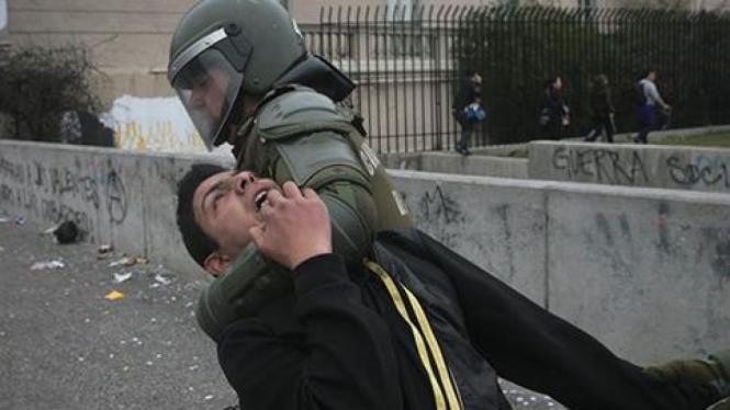Kerusuhan di Chile