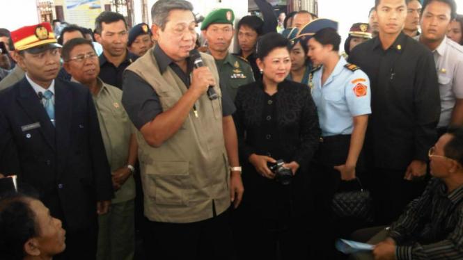 Presiden SBY dan Ibu Negara singgah di Cirebon