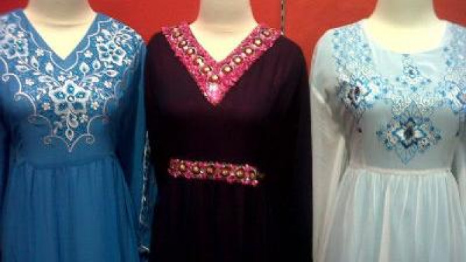 Baju Muslim Kaftan