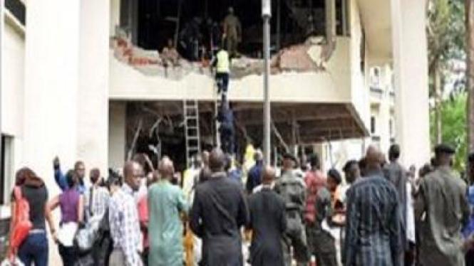 Bom Kantor PBB di Abuja, Nigeria