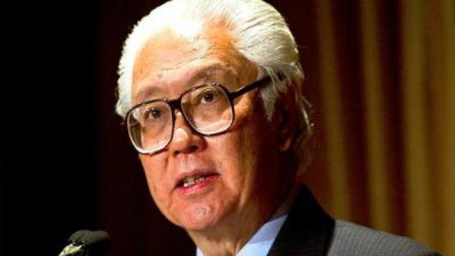 Presiden Singapura terpilih Tony Tan