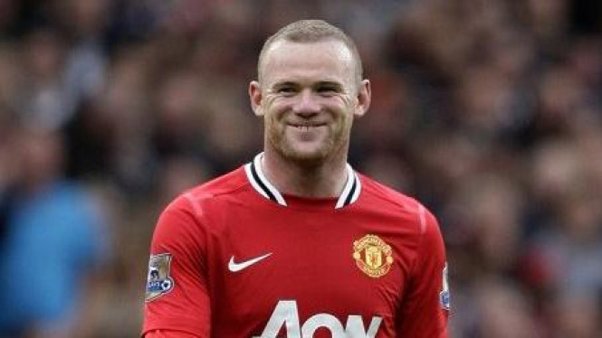 Wayne Rooney di pertandingan melawan Arsenal