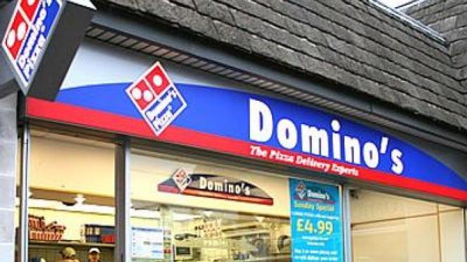 Restoran Pizza Domino
