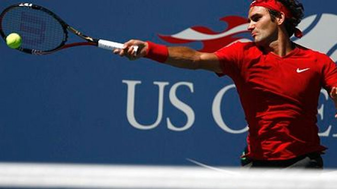 Roger Federer di US Open 2011