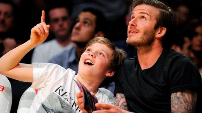 David Beckham dan Brooklyn