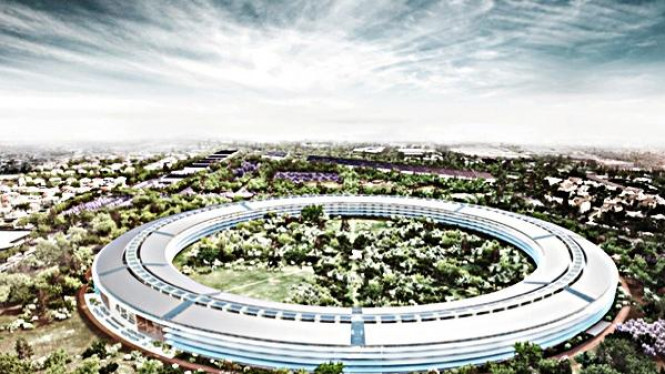 Rencana Kantor Apple di Cupertino