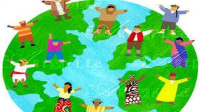 Ilustrasi Multikultural