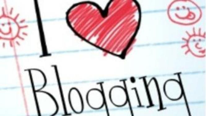 Ilustrasi Blogging