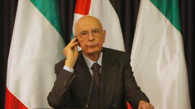Presiden Italia, Giorgio Napolitano.
