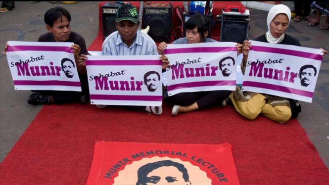 Demo 7 Tahun Munir
