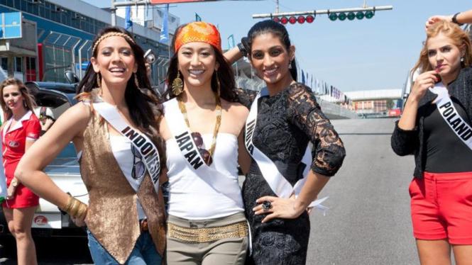 Nadine Alexandra jelang Miss Universe 2011