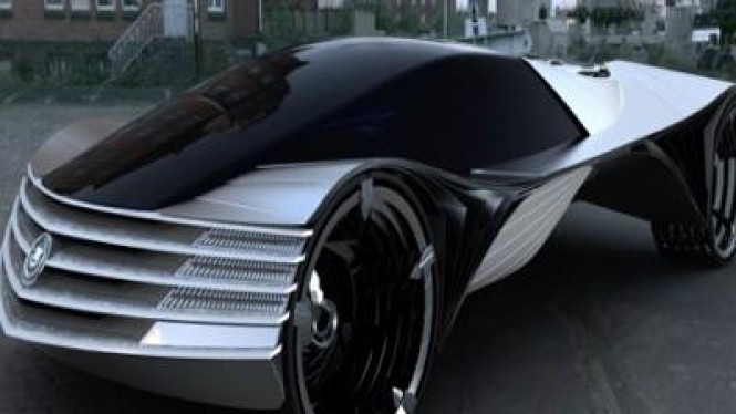 Konsep mobil dengan reaktor nuklir buatan Cadillac
