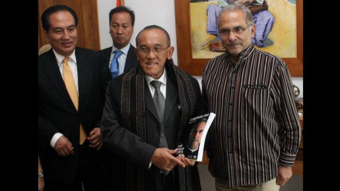 Aburizal Bakrie bertemu Presiden Timor Leste Jose Ramos Horta