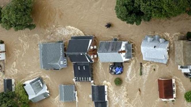 Banjir di Pennsylvania, AS