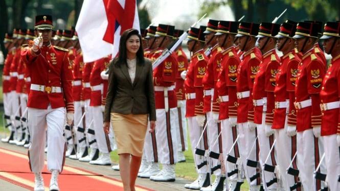 PM Cantik Thailand Temui SBY