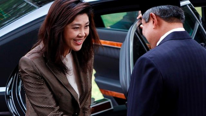 Presiden Yudhoyono menerima kunjungan PM Thailand Yingluck Shinawatra