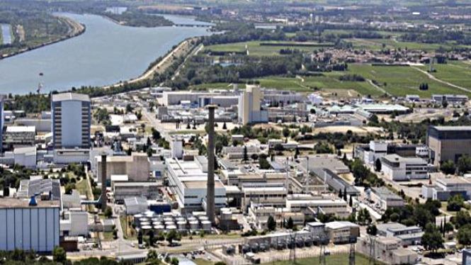Instalasi nuklir Marcoule di Perancis
