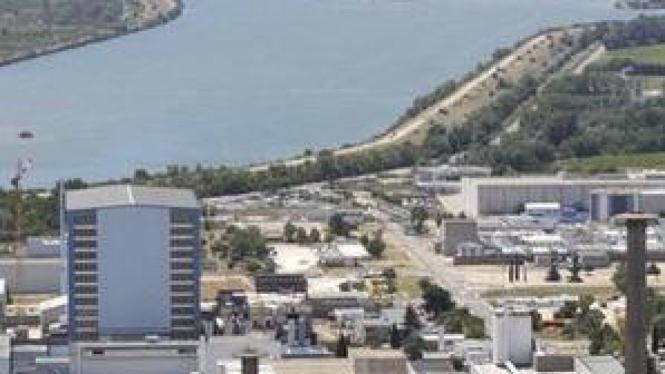Fasilitas pengelolaan limbah nuklir Prancis di Marcoule